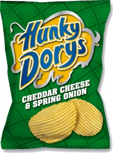 Hunky Dorys Cheese and Onion Crisps