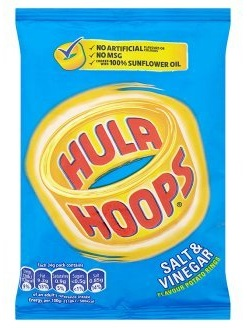 Hula Hoops Salt and Vinegar Potato Rings