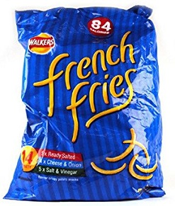 Walkers French Fries Cheese and Onion