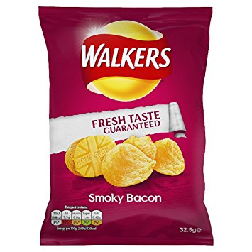 Walkers Smoky Bacon Crisps